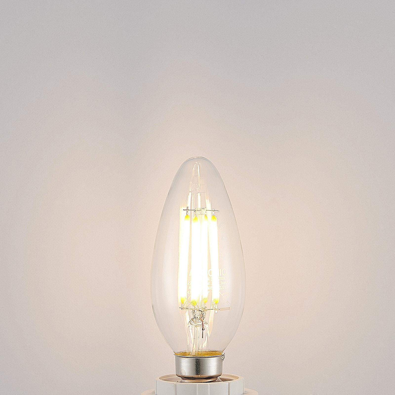 LED-Lampe E14 Filament 4W 2.700K 3-Step-Dimmer