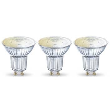 LEDVANCE SMART+ WiFi GU10 reflektor 5W 45° 827 3ks