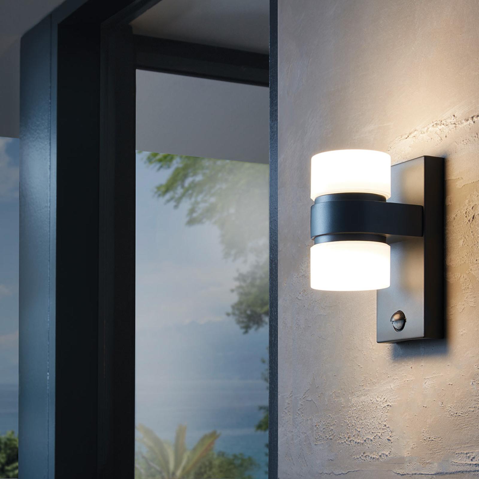 Applique d'extérieur LED Atollari avec capteur