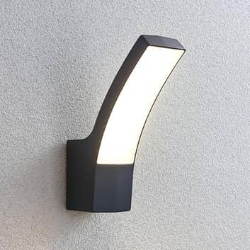 Udendørs LED-væglampe Ilvita, antracit
