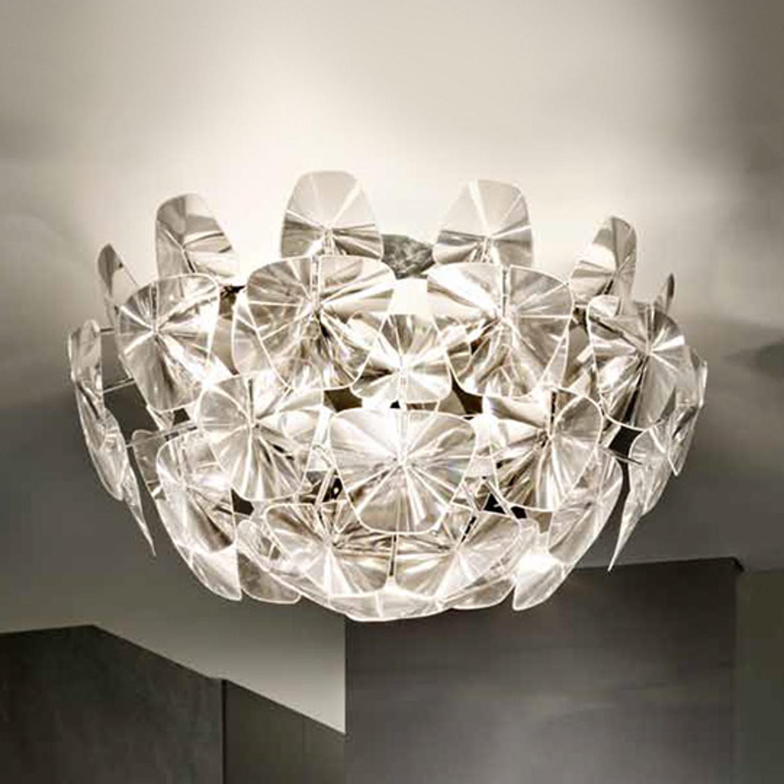 Duża designerska lampa sufitowa Hope