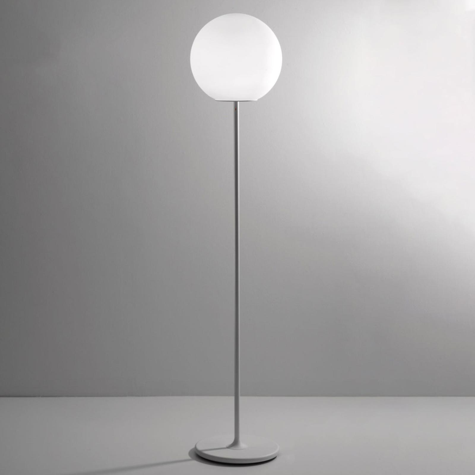 Fabbian Lumi Sfera glas-vloerlamp, Ø 40 cm