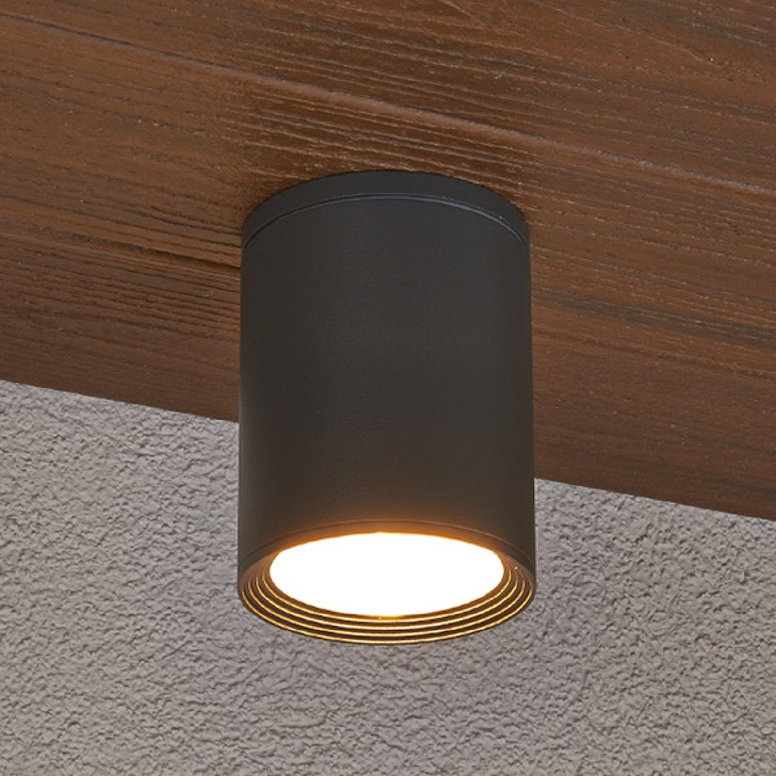Mørkegrå Minna taklampe til utendørs bruk