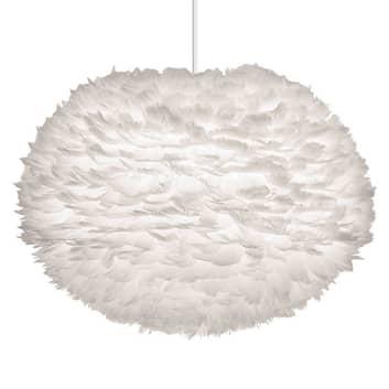 UMAGE Eos large lámpara colgante de color blanco