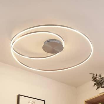 Lindby Imus lampa sufitowa LED, ściemniana Ø 87 cm