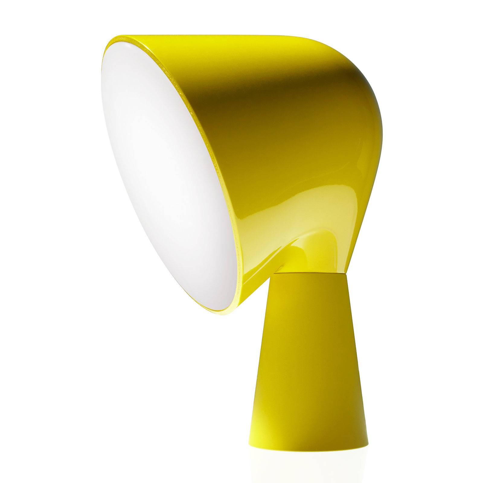 Foscarini Binic Designer-Tischleuchte, gelb