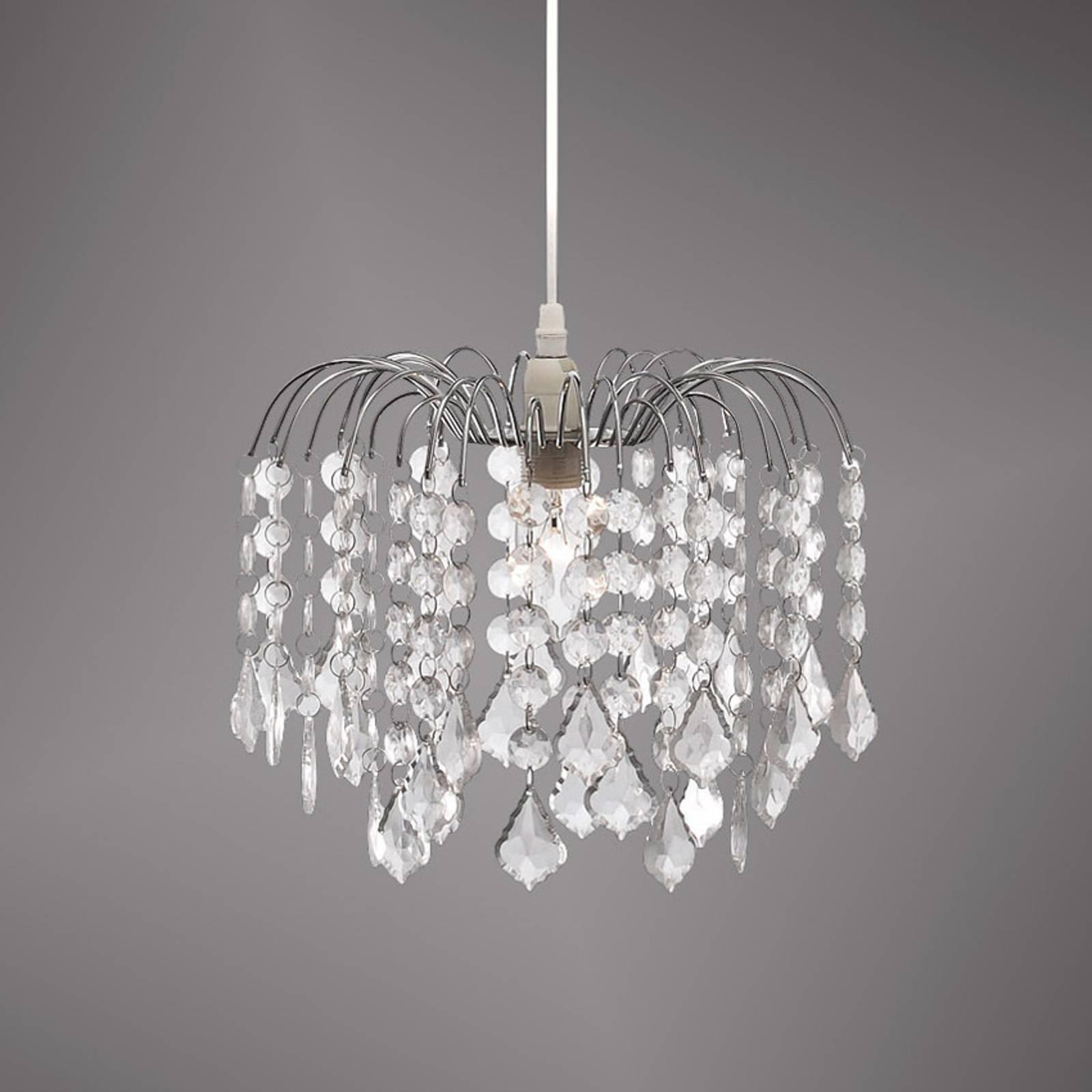 Jelly - een hanglamp met doorzichtig behang