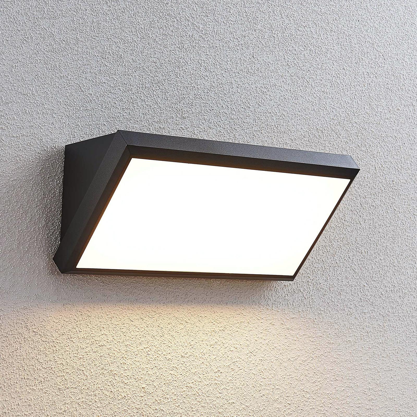 LED-Außenwandleuchte Abby ohne Sensor