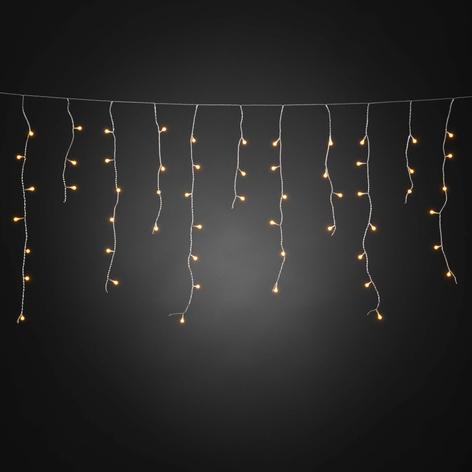 Isregn LED-lysforhæng, kan styres via app