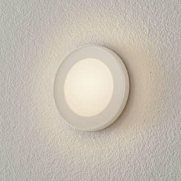 BEGA Accenta LED-vägginbyggnadslampa rund, ring