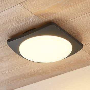 Lucande Gesar lámpara LED de techo para exterior