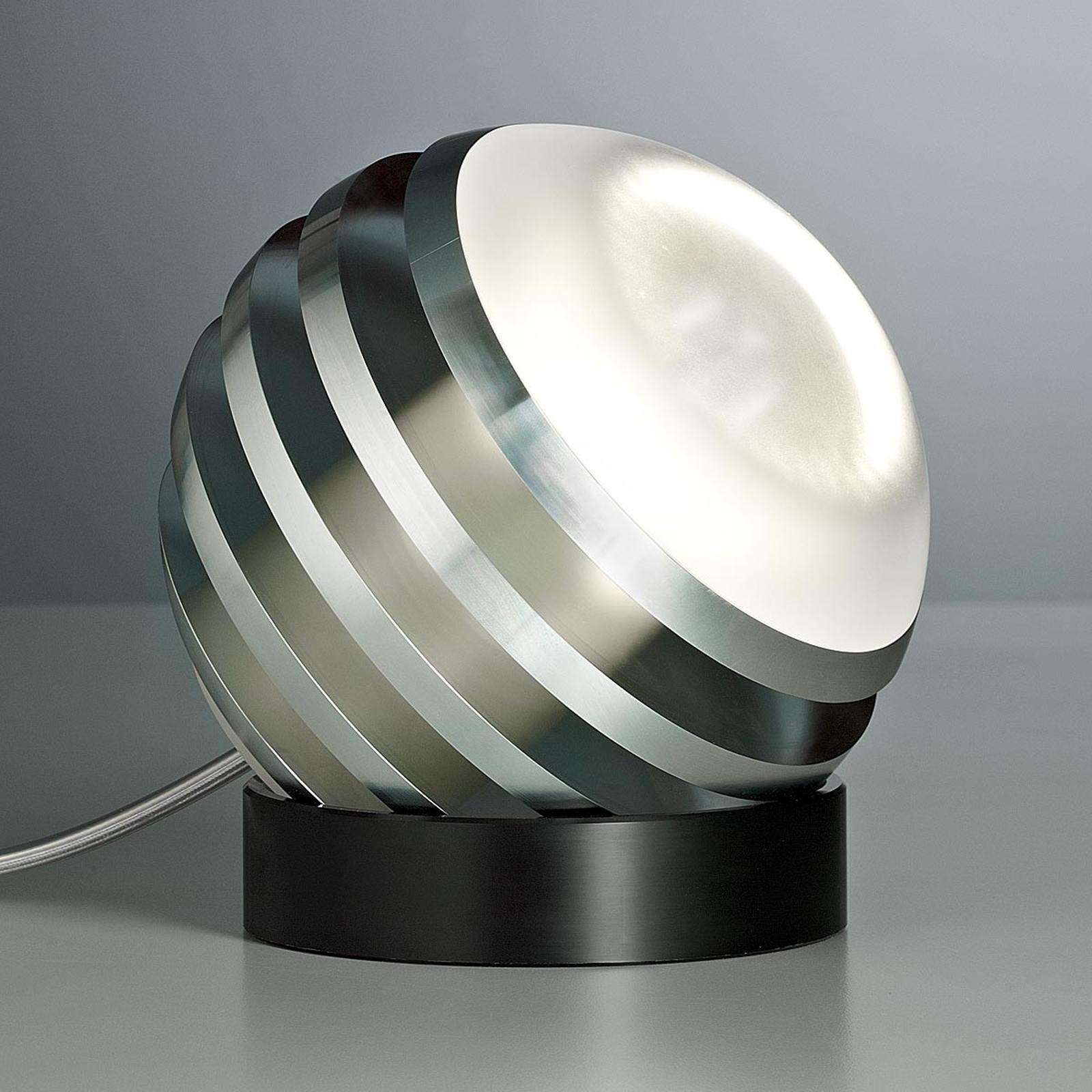 Originele led-tafellamp BULO, aluminium