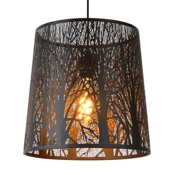 Hanglamp Garell in zwart
