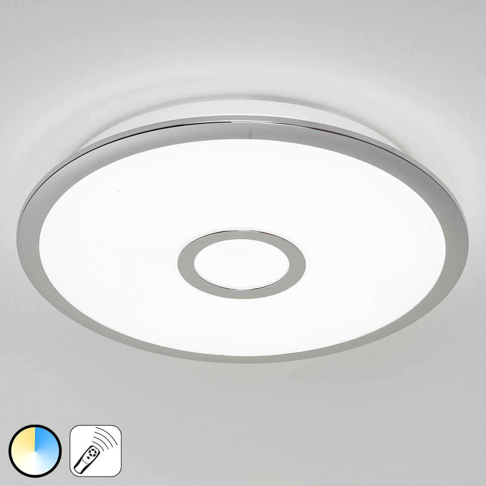 LED-taklampe Osaka med memory-funksjon