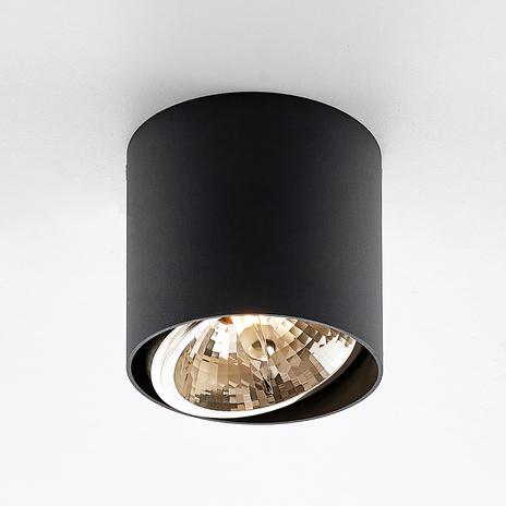 Arcchio Vali reflektor sufitowy, czarny