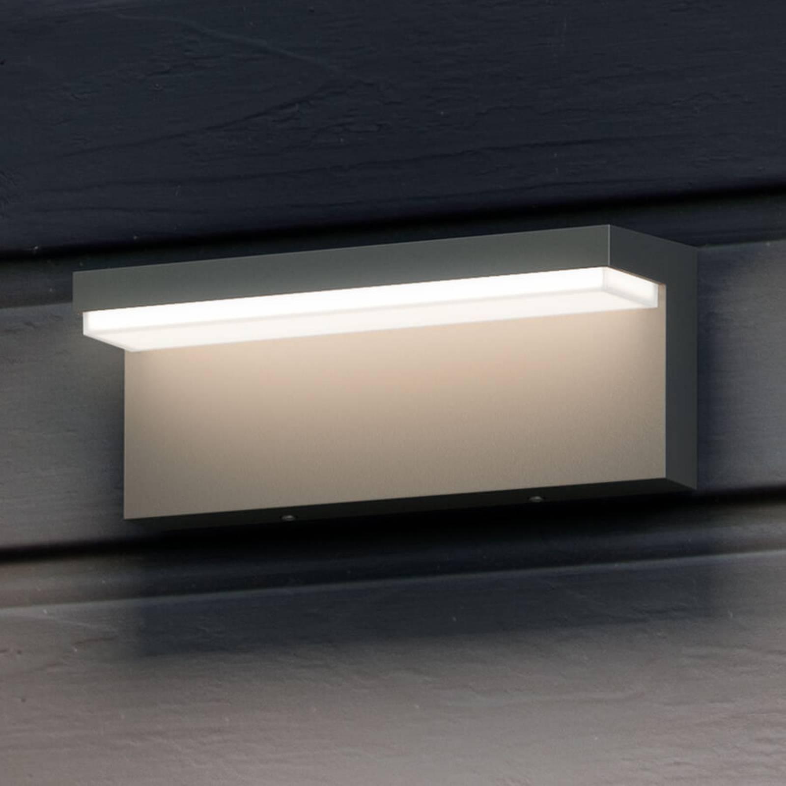 Hoekige Led-buitenwandlamp Bustan
