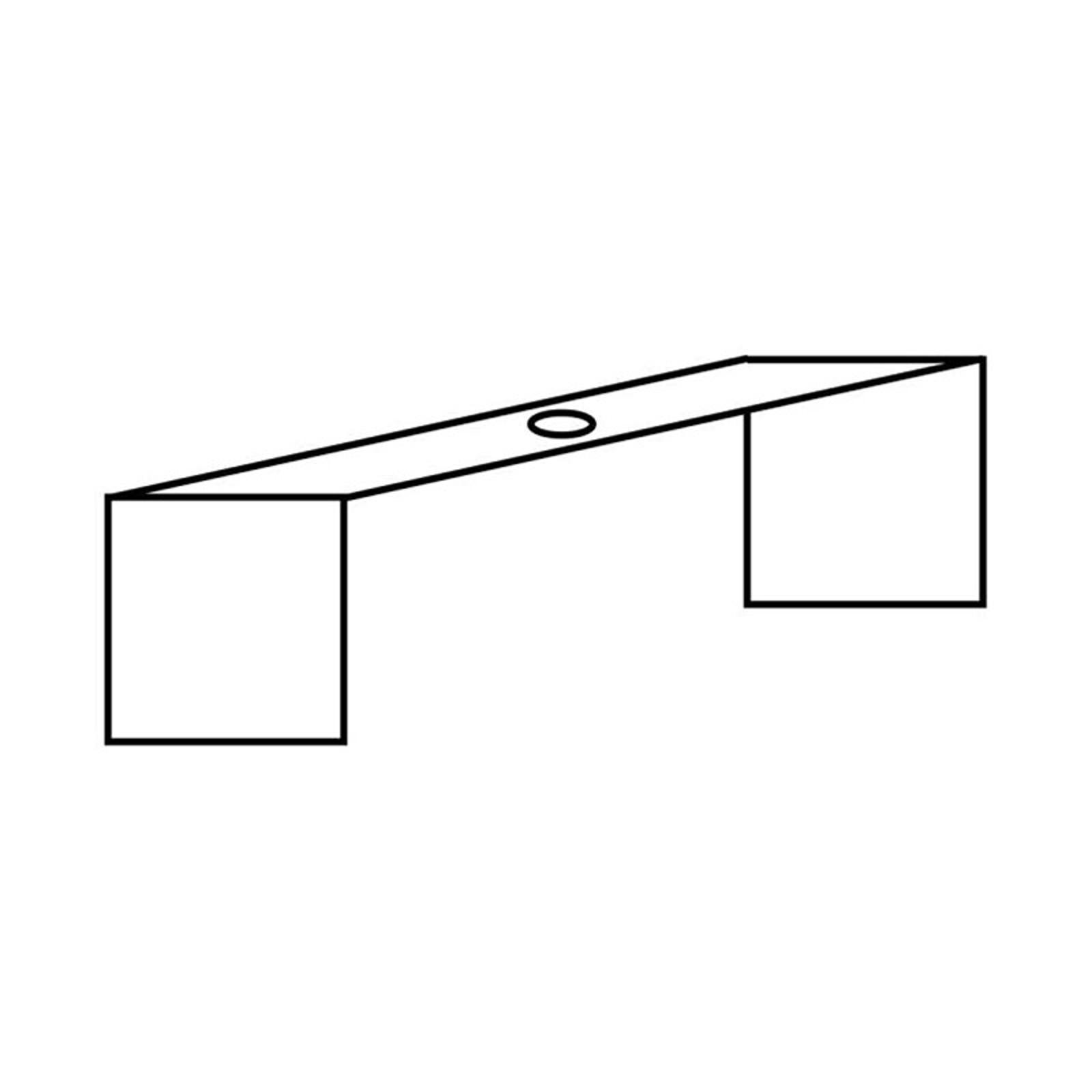 Montagebügel für 3-Phasen-Schiene Noa Einbau