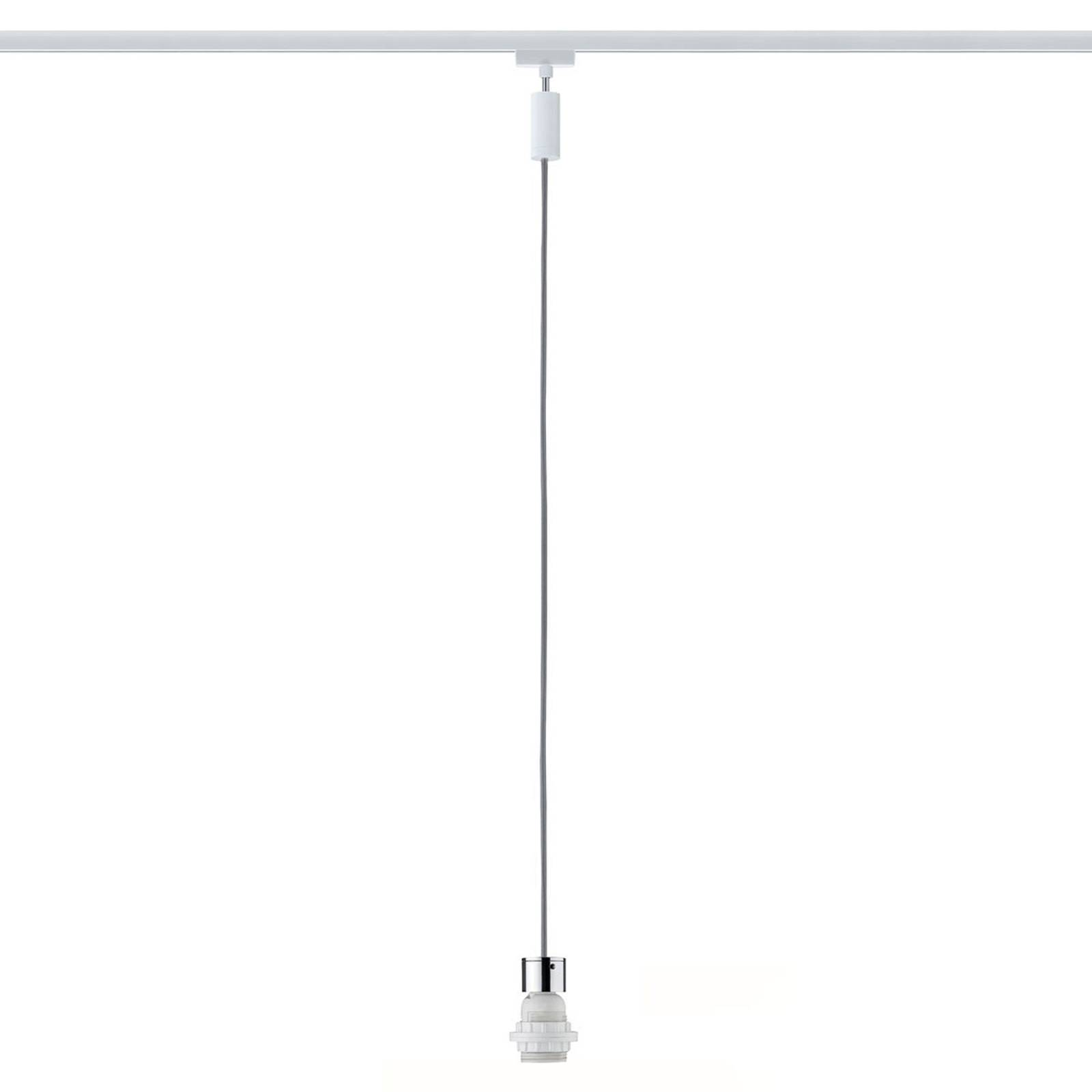 Paulmann URail 2Easy Basic lampa wisząca, biała