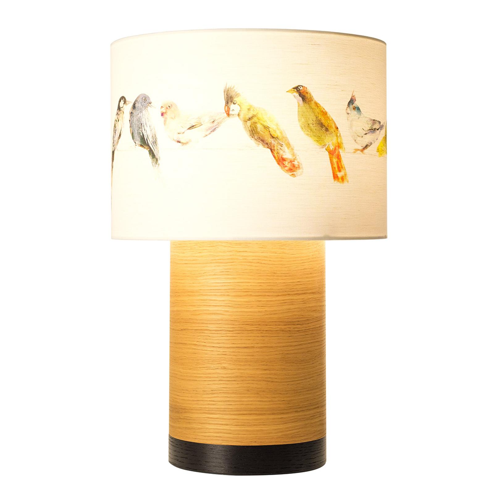 Klippa XL Birdsong bordlampe, sort