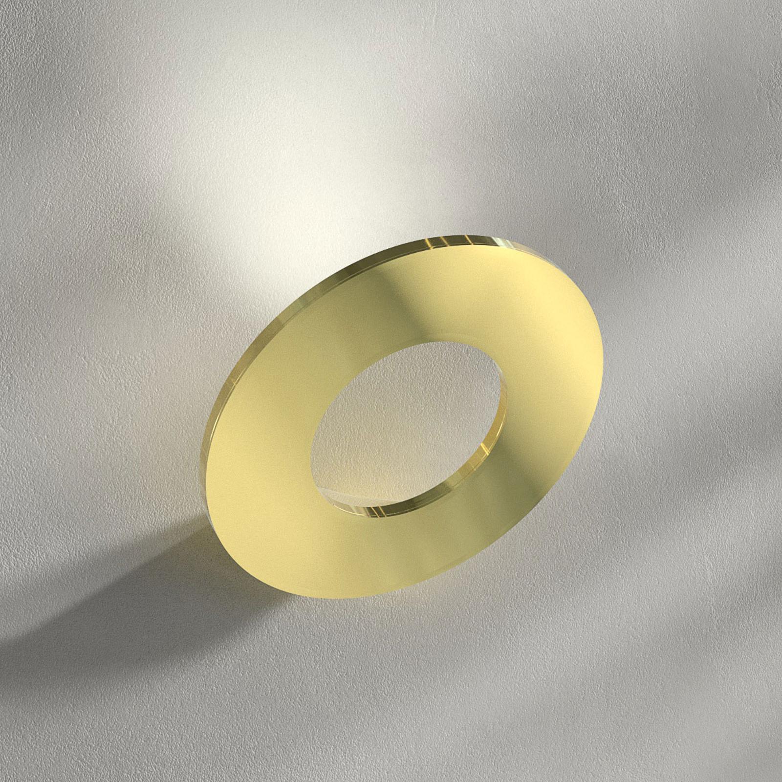 Passepartout - applique a LED color ottone