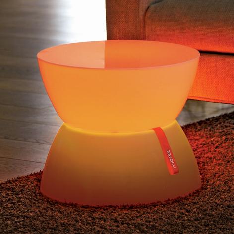 Kontrollerbar LED-dekorationslampe Lounge mini