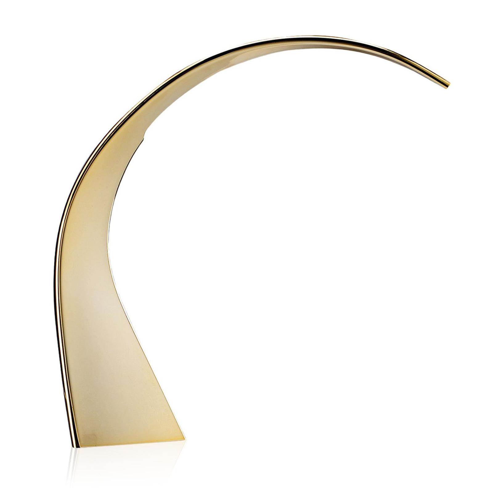 Kartell Taj Mini LED-Schreibtischlampe gold
