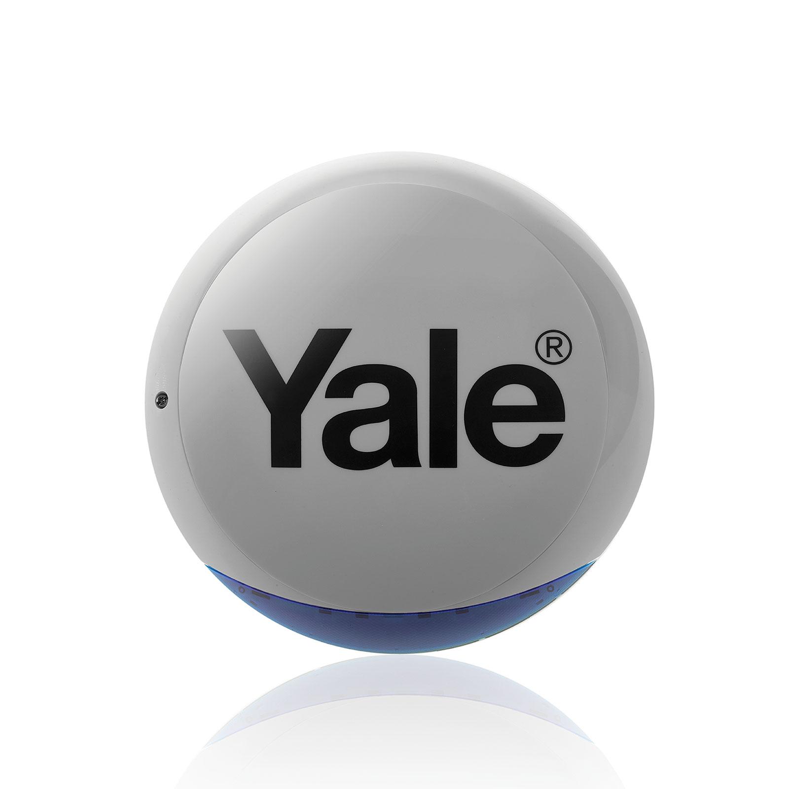 Yale Sync Außensirene in Grau