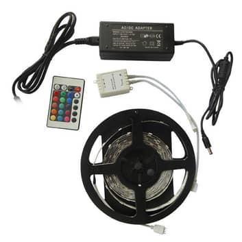 Taśma LED SMD-RGB0-005 5 metrów zestaw