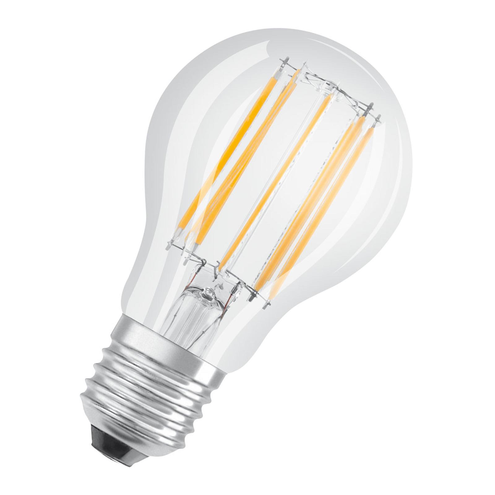 OSRAM LED-Lampe E27 10W Filament 4.000K klar