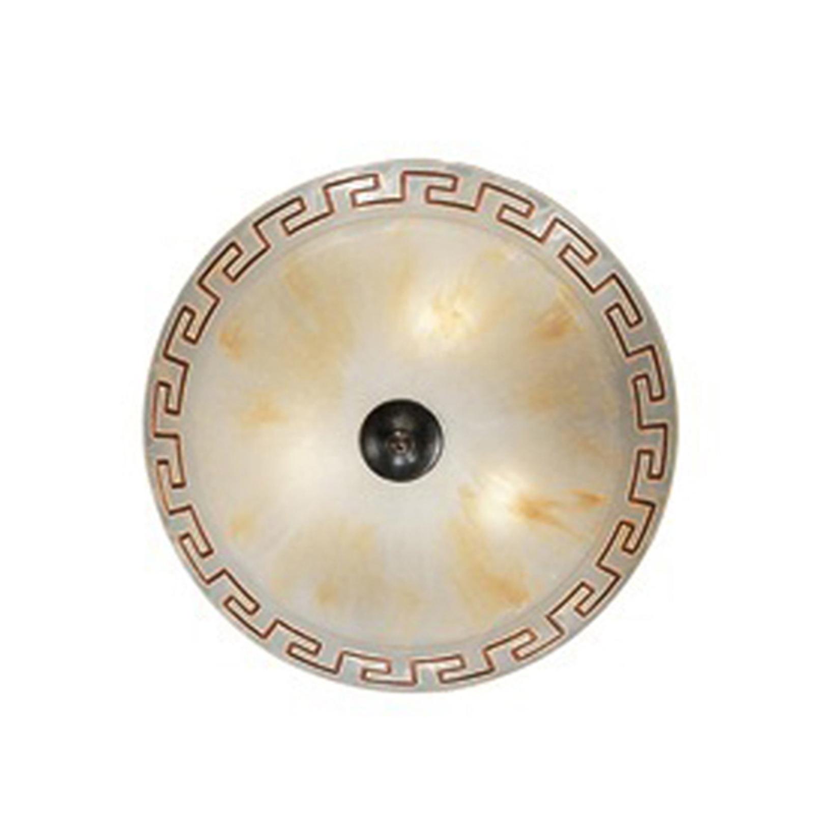 Plafondlamp GRECA, 2-lichts, 30 cm