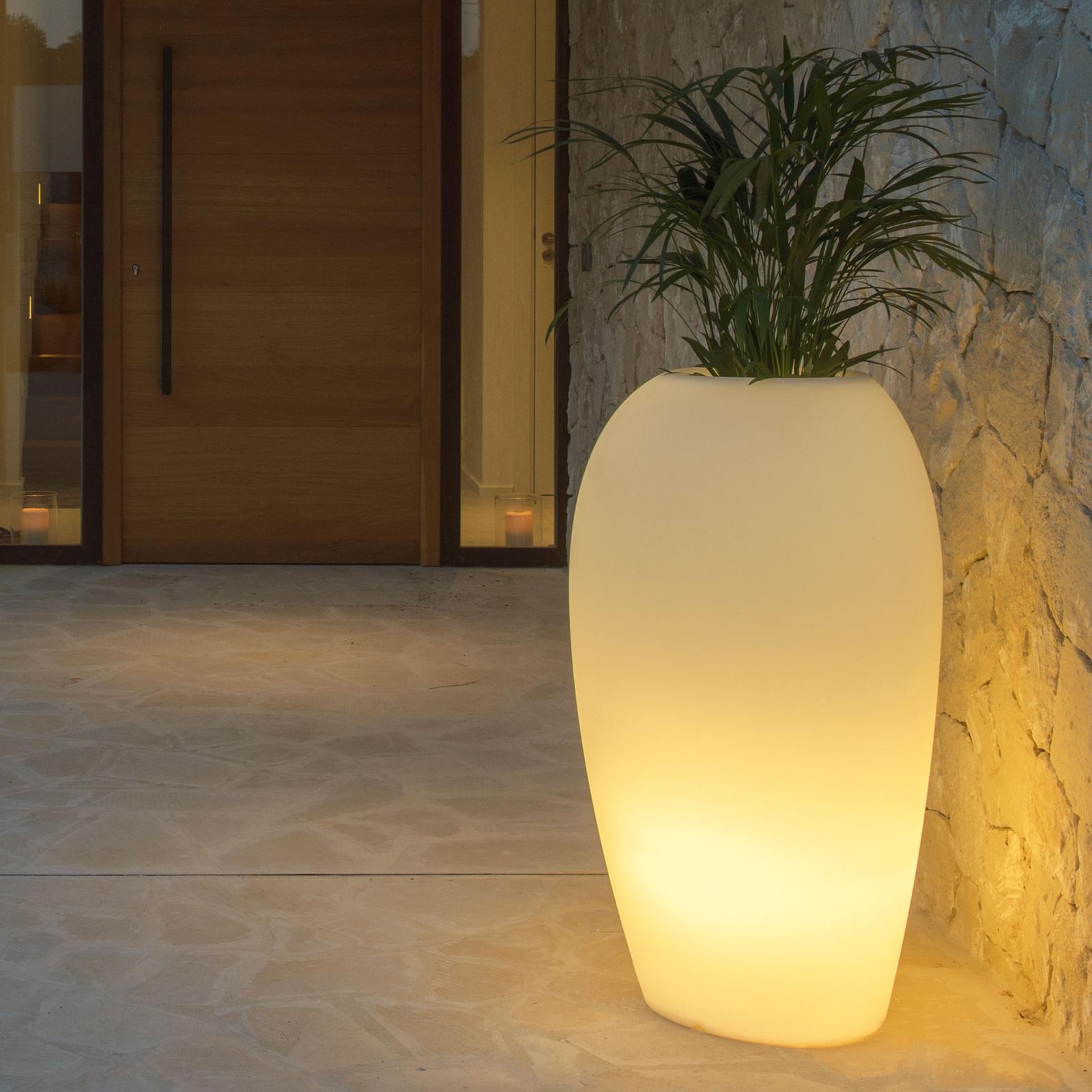 Dekolampe Storus V LED RGB+CCT bepflanzbar weiß