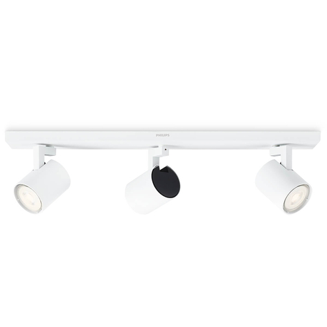 Philips Runner foco de techo LED blanco 3 luces
