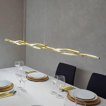 Escale Silk - LED-Hängeleuchte mit Blattgold 157cm