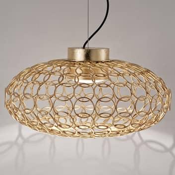 Terzani G. R. A. - oval designerhänglampa, guld