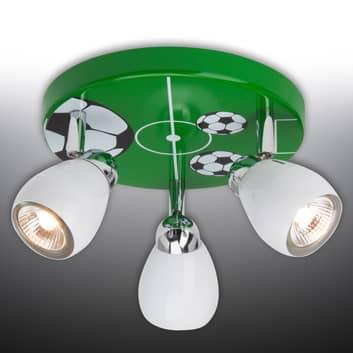 LED stropní světlo Soccer, tři žárovky