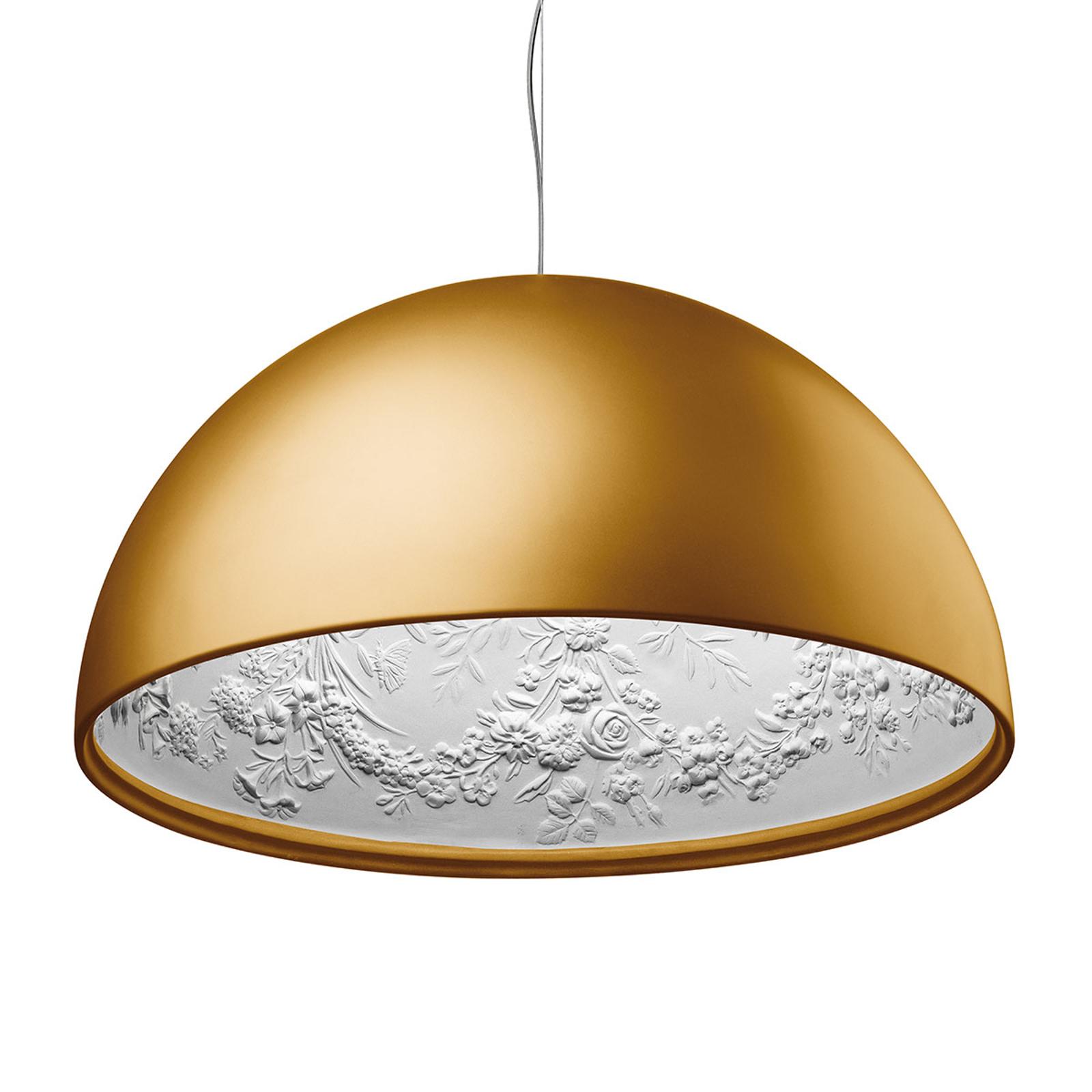 FLOS Skygarden 1 závěsné světlo, zlaté