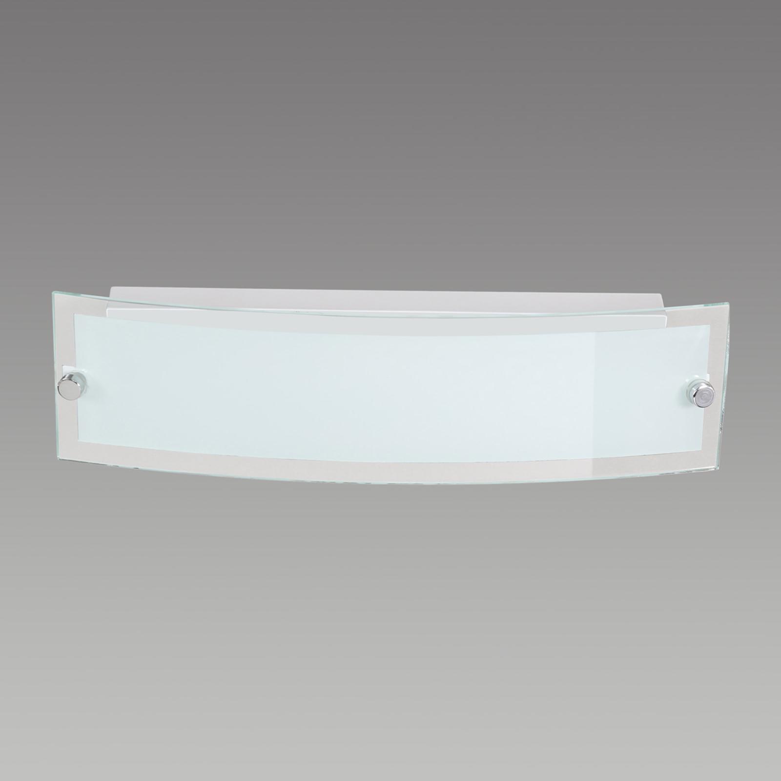 Gesatineerde LED wandlamp Lorenz