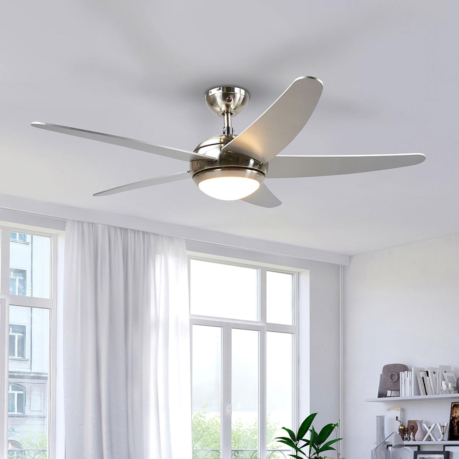 Ventilateur de plafond Anneka avec lumière LED