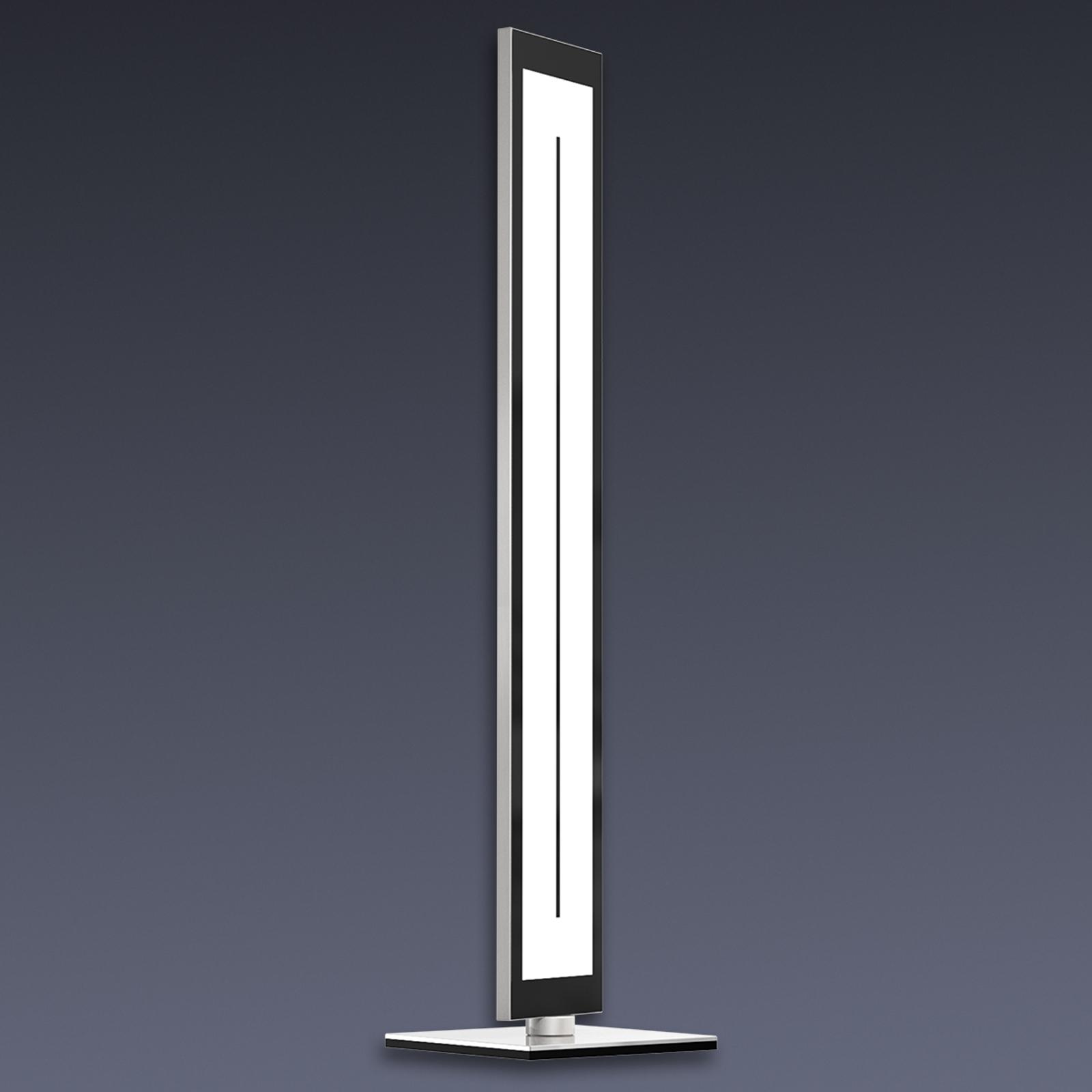 Lampadaire LED Zen, couleur de lumière réglable