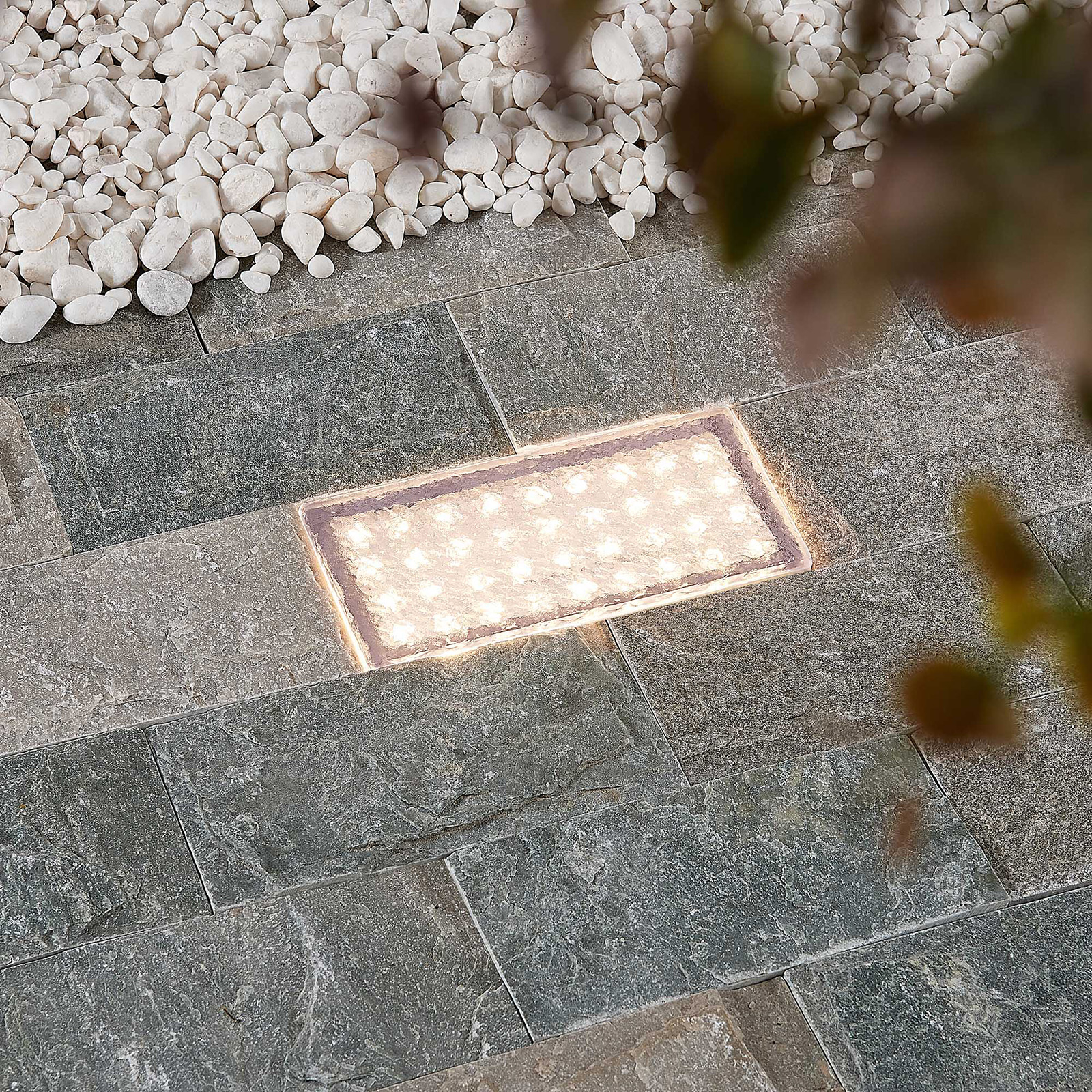 Arcchio Ewgenie LED-lattiauppovalaisin, 20 x 10 cm