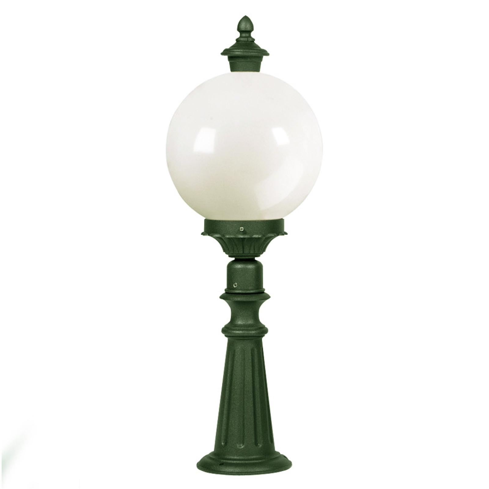Luminaire pour socle Madeira vert foncé