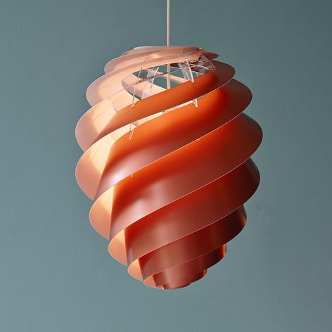 LE KLINT Swirl 2 - Designer-Pendellampe, kupfer