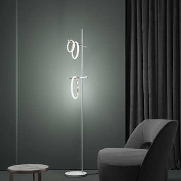 Ulaop LED-gulvlampe, tre ringe