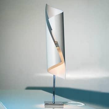 I vitt - designer-bordslampa Hué, 50 cm hög