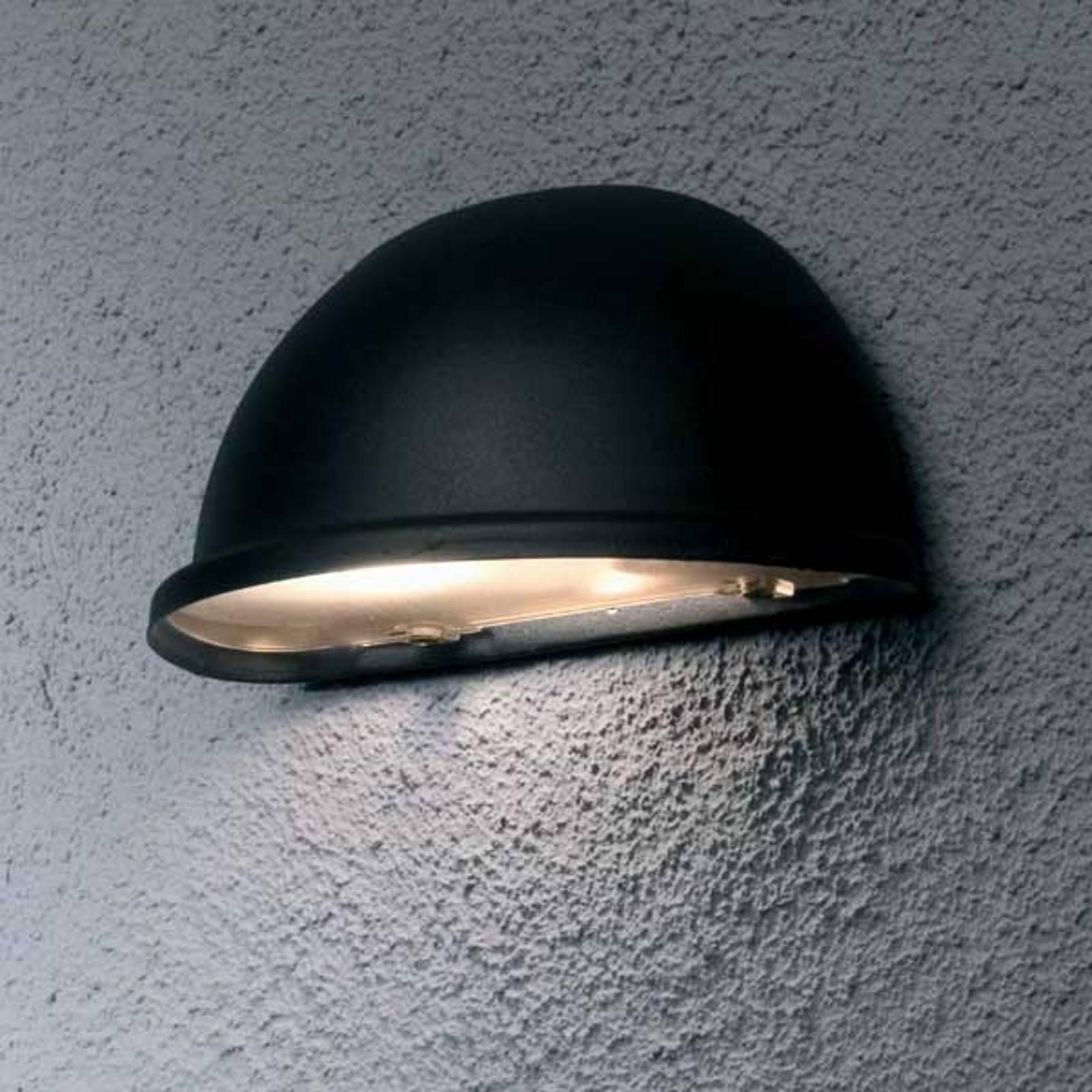 Zewnętrzna lampa ścienna TORINO E14, czarna