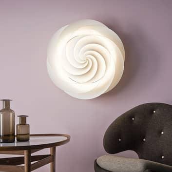 LE KLINT Swirl - vägglampa med LED-lampa, vit