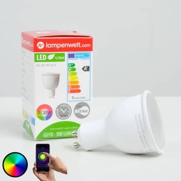 Lindby Smart LED-reflektor 110° GU10 4,5 W RGB