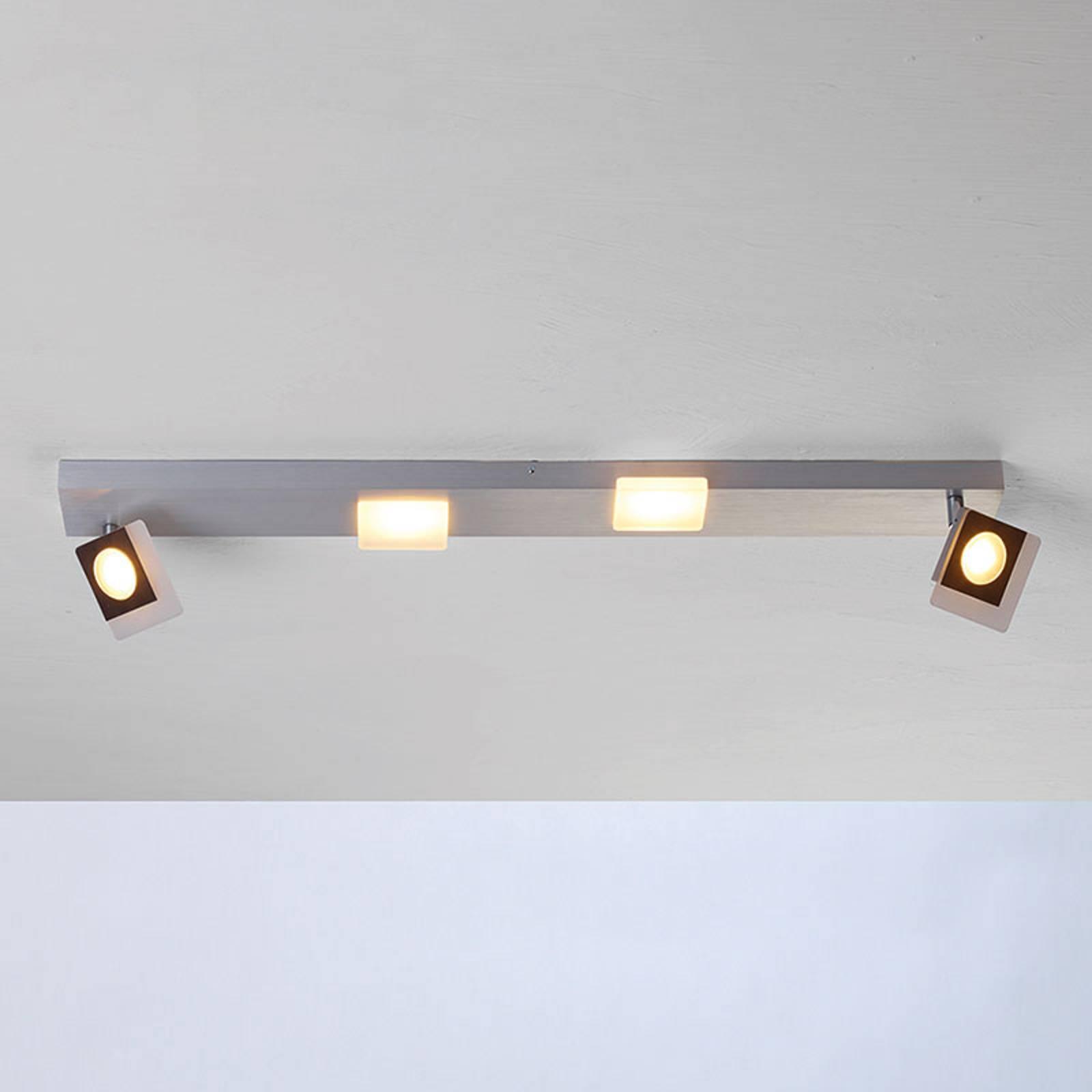 Bopp Session - lampa sufitowa LED z dwoma spotami
