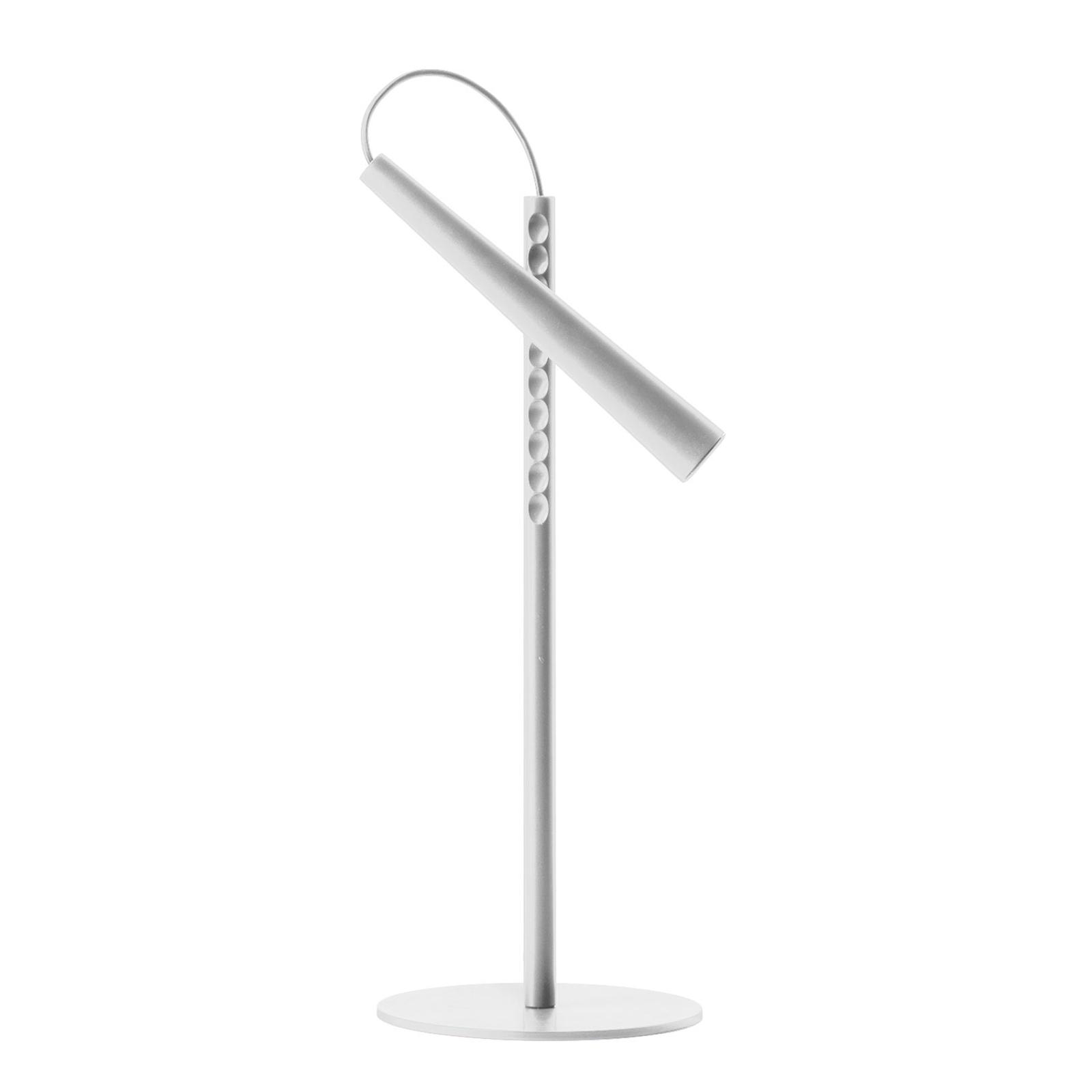 Foscarini Magneto LED-bordlampe, hvit
