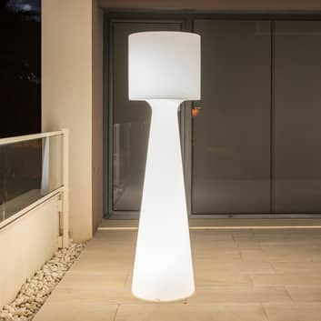 Newgarden Grace piantana LED accu, altezza 140 cm